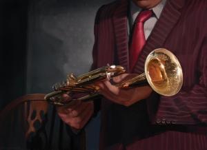 Jim's Trumpet - Dunwich Legacy Expansion for Arkham Horror LCG.  © 2017 Fantasy Flight Games.